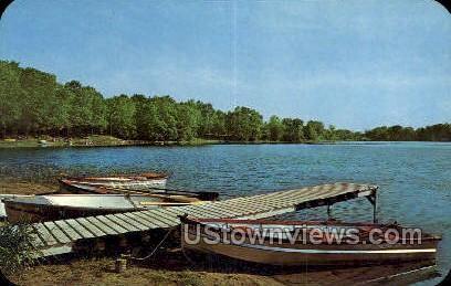 Three Rivers, Michigan, MI, Postcard