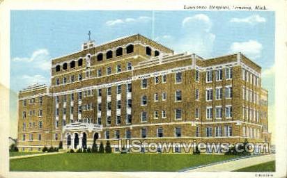 Lawrence Hospital - Lansing, Michigan MI Postcard