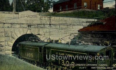 Electric Engines - Port Huron, Michigan MI Postcard