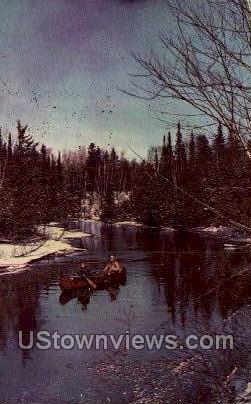 Misc, Michigan, MI, Postcard