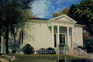 First Church of Christ Scientist - Niles, Michigan MI Postcard