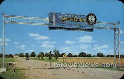 Water Wonderland - MIsc, Michigan MI Postcard