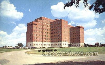 Veterans Admin. Hospital - Ann Arbor, Michigan MI Postcard