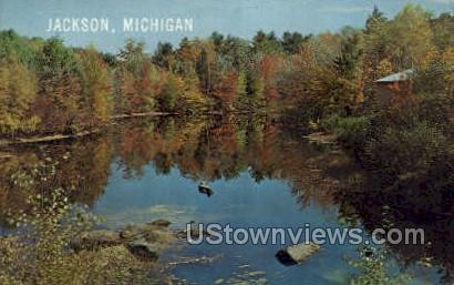 Jackson, Michigan, MI, Postcard