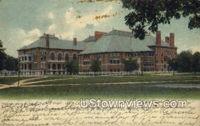 Waterman Gym, U of Michigan - Ann Arbor Postcard