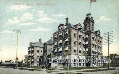 Grace Hospital - Detroit, Michigan MI Postcard