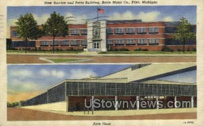 Axle Plant - Flint, Michigan MI Postcard
