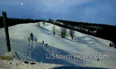 Hidden Valley - Gaylord, Michigan MI Postcard