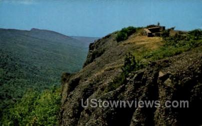 Brockway Mountain - Copper Harbor, Michigan MI Postcard