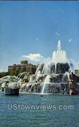 Conrad Hilton - Lake Michigan Postcards, Michigan MI Postcard