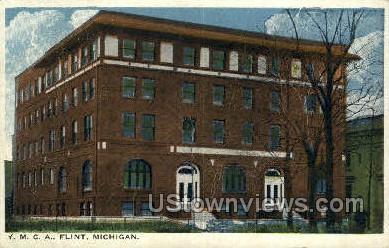 YMCA, Flint - Michigan MI Postcard