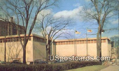 Detroit Historical Museum - Michigan MI Postcard