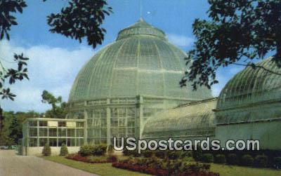 Horticultural Building, Belle Isle Park - Detroit, Michigan MI Postcard