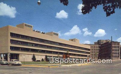 Kresge Medical Research BLD, U of Michigan - Ann Arbor Postcard