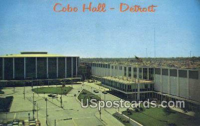 Cobo Hall 7 Convention Arena - Detroit, Michigan MI Postcard