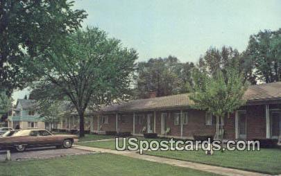 Motel Jackson - Michigan MI Postcard