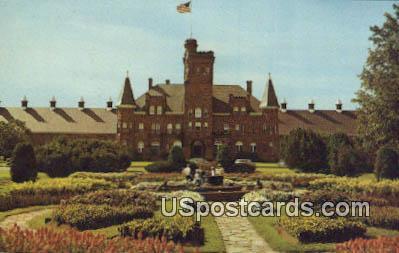 Sunken Gardens, Marquette Branch Prison - Michigan MI Postcard