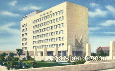 Veterans' Memorial Building - Detroit, Michigan MI Postcard