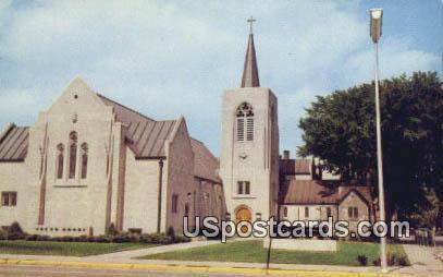 First Congregational Church - Alpena, Michigan MI Postcard