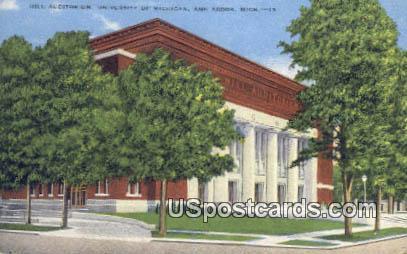 Hill Auditorium, U of Michigan - Ann Arbor Postcard