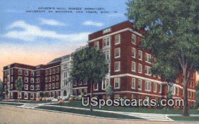 Nurses Dormitory, University of Michigan - Ann Arbor Postcard