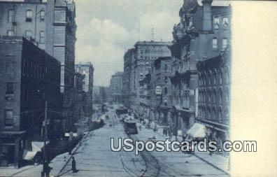 Griswold St - Detroit, Michigan MI Postcard