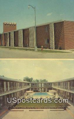 Parkcrest Motel - Detroit, Michigan MI Postcard