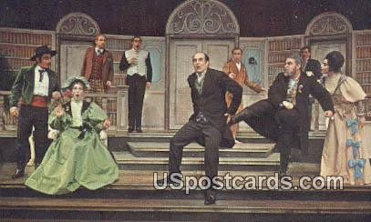 Hilberry Classic Theater, Wayne State U - Detroit, Michigan MI Postcard