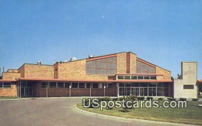 Ballenger Field House - Flint, Michigan MI Postcard
