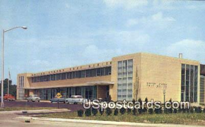 US Post Office - Flint, Michigan MI Postcard