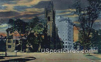 Tuller Building - Detroit, Michigan MI Postcard