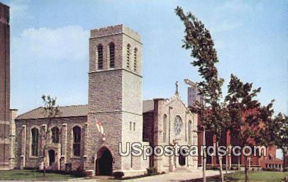 Old Mariners' Church, New Civic Center - Detroit, Michigan MI Postcard