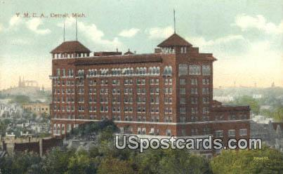 YMCA - Detroit, Michigan MI Postcard