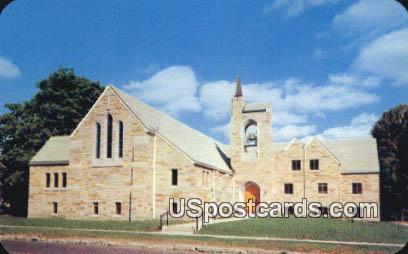 First Evangelical United Brethern Church - Niles, Michigan MI Postcard
