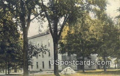 Chapel Albion College - Michigan MI Postcard