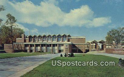 Alma College - Michigan MI Postcard