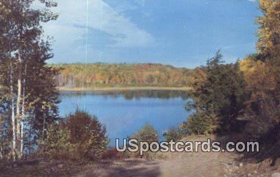 Reflections - MIsc, Michigan MI Postcard
