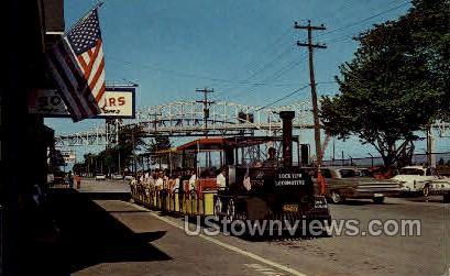 Soo Tour Train - Sault Ste Marie, Michigan MI Postcard