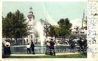 South Canal Park - Sault Ste Marie, Michigan MI Postcard