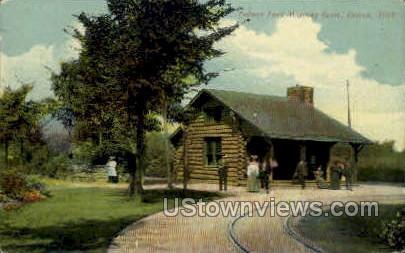 Palmer Park Waiting Room  - Detroit, Michigan MI Postcard
