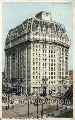 Hotel Pontchartrian  - Detroit, Michigan MI Postcard