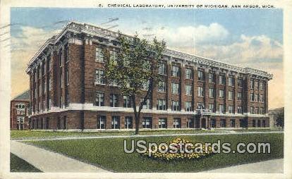 Chemical Laboratory, University of Michigan - Ann Arbor Postcard