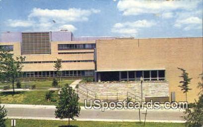 University Medical Center - Ann Arbor, Michigan MI Postcard