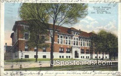 Dental Building, University of Michigan - Ann Arbor Postcard