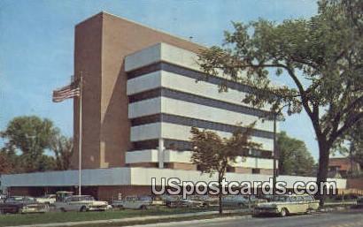 City Hall - Ann Arbor, Michigan MI Postcard