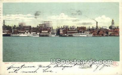 Water Point - Detroit, Michigan MI Postcard