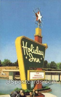 Holiday Inn - Ann Arbor, Michigan MI Postcard