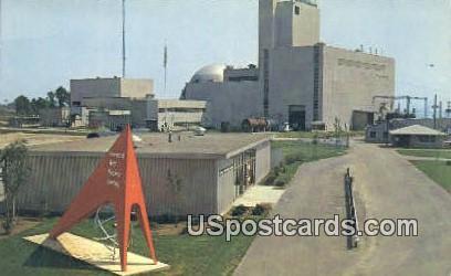 Enrico Fermi Atomic Power Plant - Detroit, Michigan MI Postcard
