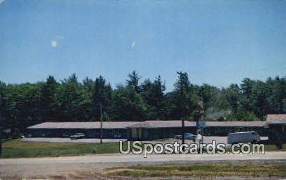 Queen City Motel - Marquette, Michigan MI Postcard