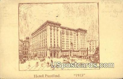 Hotel Pantlind - MIsc, Michigan MI Postcard